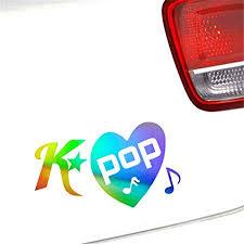 K Pop Sticker Window Door Car Laptop Auto Truck Bumper Jdm Vinyl Decal