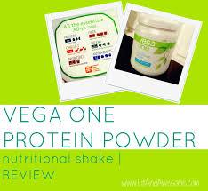 vega protein powder review vega one
