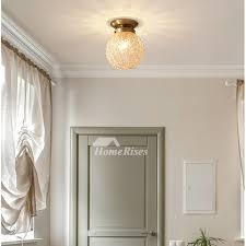 bedroom crystal ball ceiling light
