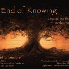 The End of Knowing--Robert Beaser; Kesselman, Jones by Jamie L. Nix on  SoundCloud - Hear the world's sounds
