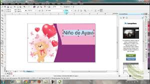Tutorial De Diseno De Tarjetas En Coreldraw Youtube