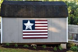Diy Large Wood Fence Picket American Flag Sign The Frugal Homemaker