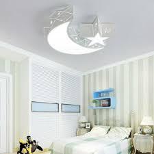 Acrylic Star Moon Ceiling Light Fixture Kids Room Lamp Led Bedroom Chandeliers For Sale Online