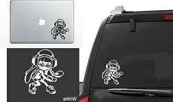 Splatoon Inkling Girl Vinyl Decal Window Laptop Sticker