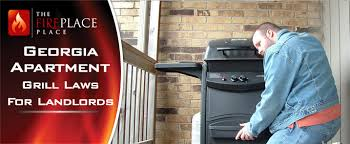 georgia apartment grill laws for