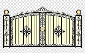 Fence Window Wrought Iron Gate Door Grille Guard Rail Stainless Steel Transparent Background Png Clipart Hiclipart