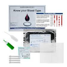 eldoncard blood typing kit combat