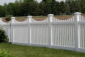 Pvc Or Vinyl Fences Cardinal Fence Supply Inc White Vinyl Fence Backyard Fences Vinyl Fence