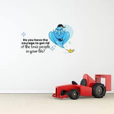 Design With Vinyl Genie Aladdin Toxic People Vinyl Wall Decal Wayfair