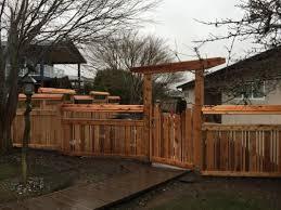 Photos Asian Inspired Fence By Sound Cedar