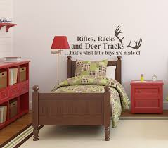 Rifles Racks And Deer Tracks Deer Decals For Nursery