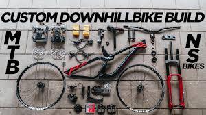 mtb downhill bike build ns bikes fuzz