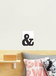 Ampersand And Symbol 3 Minimalist Print Photographic Print By Shrijit Redbubble