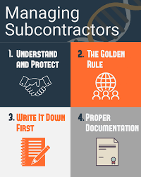 Four Tips for Effectively Managing Subcontractors