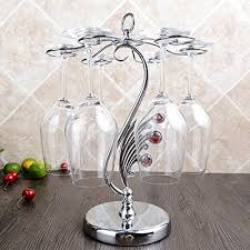 red wine glass rack stainless steel