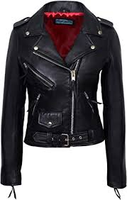 black with red lining real leather