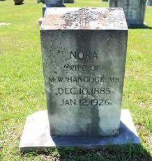 Nora Smith Hancock (1885-1926) - Find A Grave Memorial