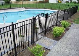 30 Stylish And Practical Pool Fence Designs Digsdigs
