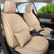 autodecorun pvc leather seat cover for