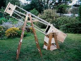 large homemade telescope making project