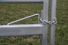 Cattle Yard Gate Chain Catch Diy Gate Cattle Farm Gate