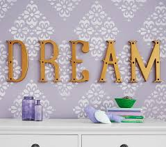 Dream Decorative Wall Letter Set Pottery Barn Kids
