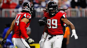 Adrian Clayborn Dominates With Six Sacks in Falcons Win Over Cowboys