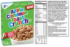 cinnamon toast crunch label
