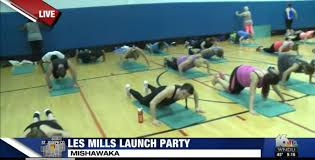ymca holds les mills launch party