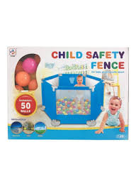 Shop Liying Baby Game Safety Fence With 50 Ball 150x140x70cm Online In Riyadh Jeddah And All Ksa