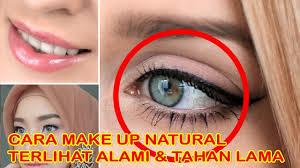 cara makeup simple dan natural