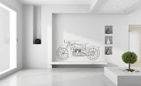 1920 Ace Motorcycle Premium Wall Decal Boss Moto Clothing Llc