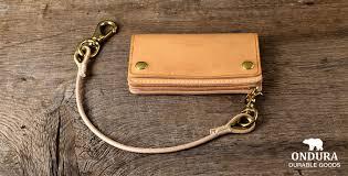 leather goods ondura durable goods
