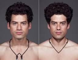 Resultado de imagen de Nuestras caras son simétricas
