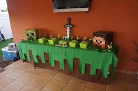 Minecraft Party Theme Mas Cumpleanos Con Tema De Minecraft