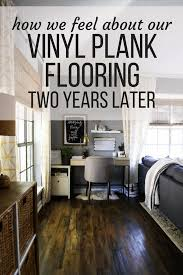 vinyl plank flooring review 2 years