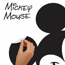 Mickey Mouse Giant Wall Decals Roommates Decor