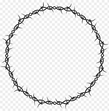 Barbed Wire Barbed Tape Fence Chain Barb Wire Circle Clip Art Png Image With Transparent Background Toppng