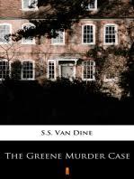 Read The Greene Murder Case Online by S.S. Van Dine   Books