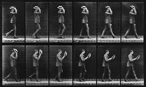 Eadweard Muybridge's Animal Locomotion: Plate 44 (Man Taking Off Hat) –  20x200