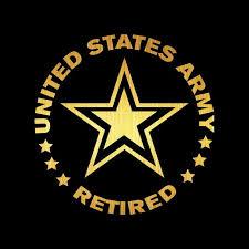 Us Army Retired Car Decal Aspire Gear