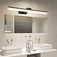 adjustable linear vanity mirror light