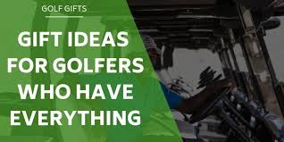 12 gifts ideas for golfers who