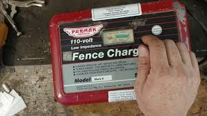 How To Test A Parmak Fence Charger Parmak Mark 6 Fence Charger Repair Youtube