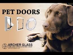louvres and pet doors glass repairs