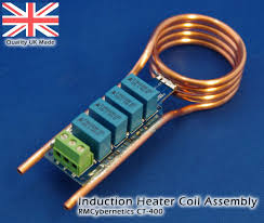 induction heater coil self resonant