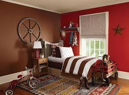kids bedrooms wrapped in shades of red