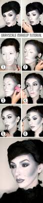 grayscale makeup tutorial for