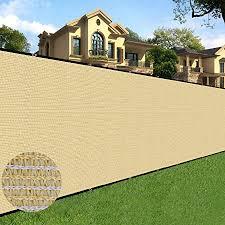 Amazon Com Sunnyglade 6 Feet X 50 Feet Privacy Screen Fence Heavy Duty Fencing Mesh Shade Net Cover For Wall Garden Yard Backyard Sand Garden Outdoor