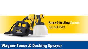 Wagner Fence Decking Sprayer Screwfix Youtube